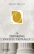 Cover for On Thinking Institutionally