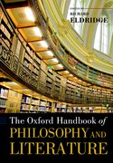 Cover for The Oxford Handbook of Philosophy and Literature