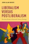 Cover for Liberalism versus Postliberalism