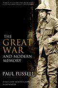 Cover for The Great War and Modern Memory