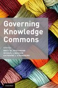 Cover for Governing Knowledge Commons