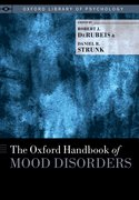 Cover for The Oxford Handbook of Mood Disorders