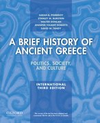 Cover for A Brief History of Ancient Greece, International Edition