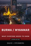Cover for Burma/Myanmar