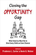 Cover for Closing the Opportunity Gap