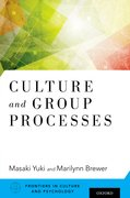 Cover for Culture and Group Processes