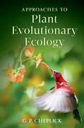Cover for Approaches to Plant Evolutionary Ecology