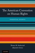 Cover for The American Convention on Human Rights - 9780199989683