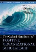Cover for The Oxford Handbook of Positive Organizational Scholarship
