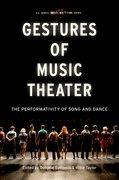 Cover for Gestures of Music Theater