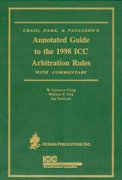 Cover for Annotated Guide to the 1988 ICC Arbitration Rules with Commentary