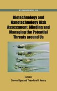 Cover for Biotechnology and Nanotechnology Risk Assessment