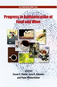 Cover for Progress in Authentication of Food And Wine