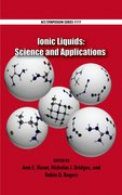 Cover for Ionic Liquids: Science and Applications