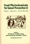 Cover for Food Phytochemicals for Cancer Prevention
