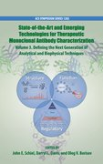 Cover for State-of-the-Art and Emerging Technologies for Therapeutic Monoclonal Antibody Characterization Volume 3.