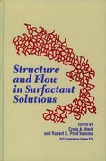 Cover for Structure and Flow in Surfactant Solutions