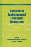 Cover for Analysis of Environmental Endocrine Disruptors