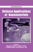 Cover for Defense Applications of Nanomaterials