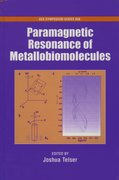 Cover for Paramagnetic Resonance of Metallobiomolecules