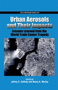 Cover for Urban Aerosols and Their Impacts