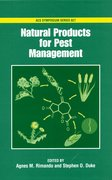 Cover for Natural Products for Pest Management