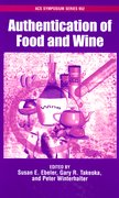 Cover for Authentication of Food and Wine