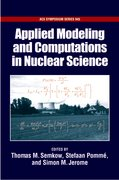 Cover for Applied Modeling and Computations in Nuclear Science