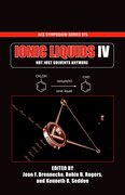 Cover for Ionic Liquids IV