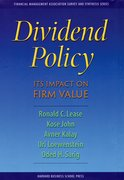 Cover for Dividend Policy: