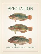 Cover for Speciation