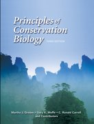 Cover for Principles of Conservation Biology