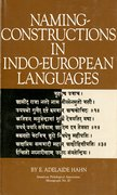 Cover for Naming-Constructions in Some Indo-European Languages