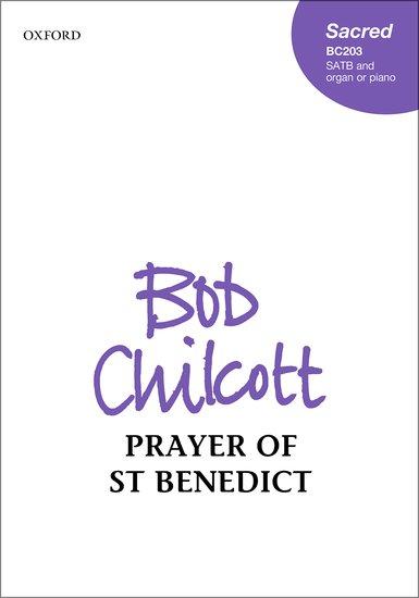 Prayer of St Benedict image
