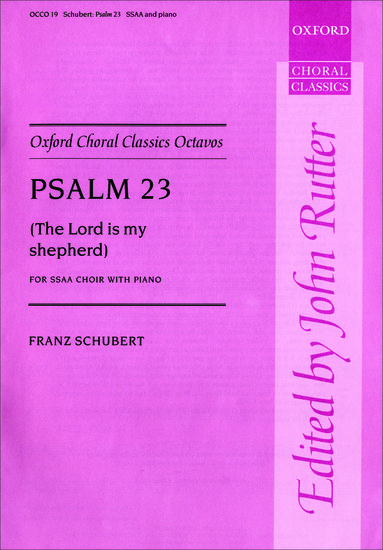 The Lord is my shepherd, Psalm 23, D 706 image
