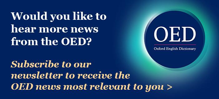 OED newsletter