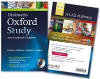 Dizionario Oxford Study with eLibrary