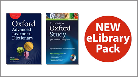 Oxford dictionaries now with eLibrary