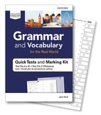 Grammar and Vocabulary Quick Tests and Marking Kit