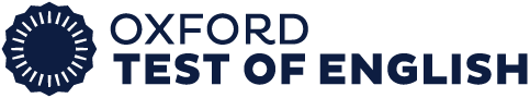 Oxford test of English logo