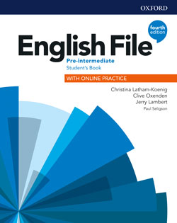English File fourth edition Pre-intermediate Student's Book cover