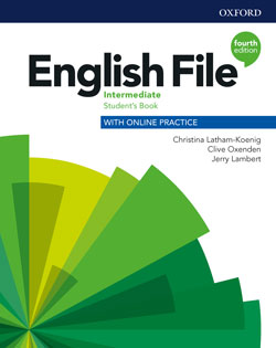 English File fourth edition Intermediate Student's Book cover