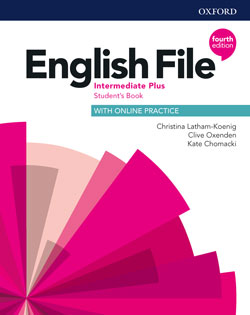 English File fourth edition Intermediate Plus Student's Book cover