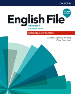 English File fourth edition Advanced Student's Book cover