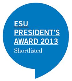 ESU President's Award 2013 Shortlisted