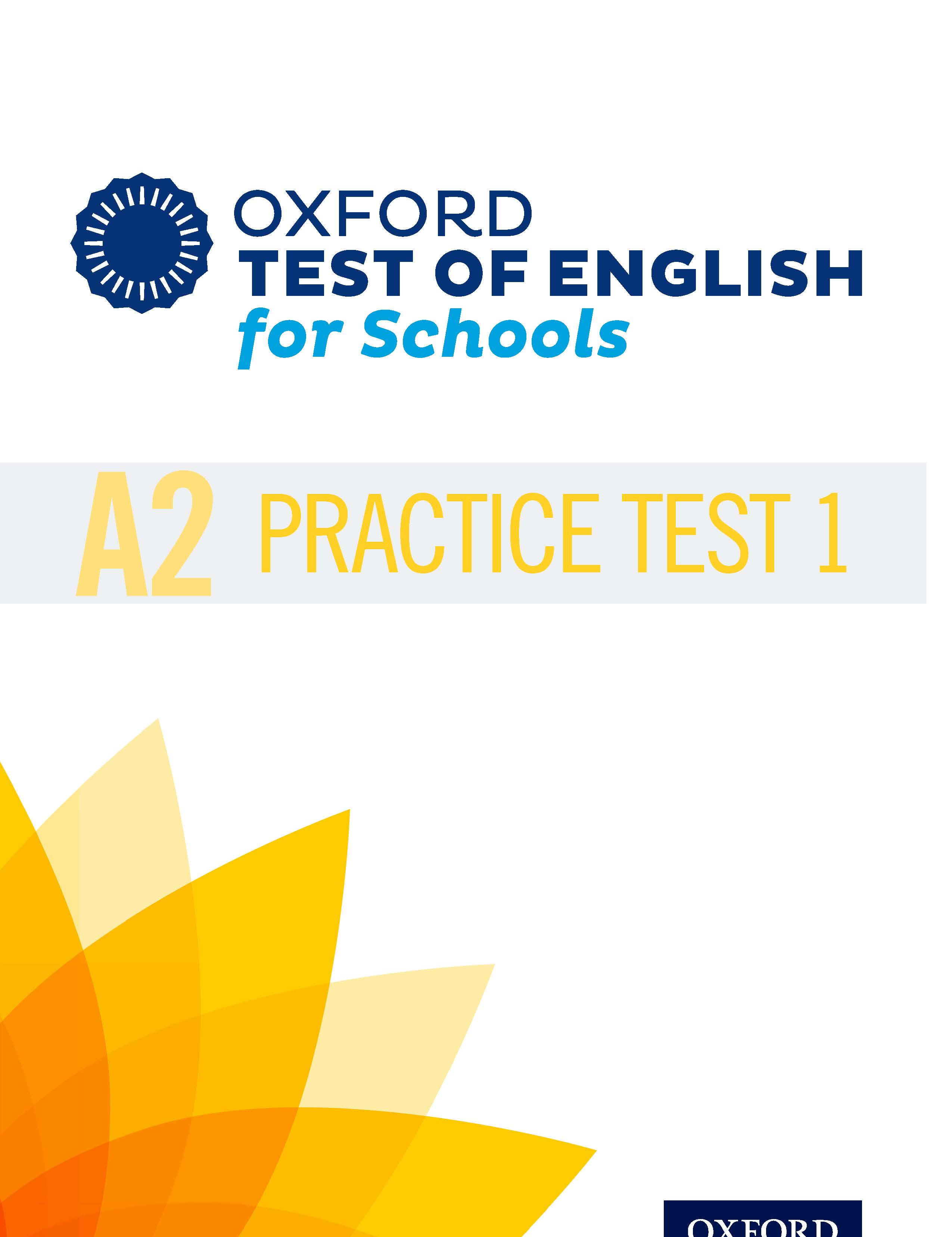 A2 Practice Test