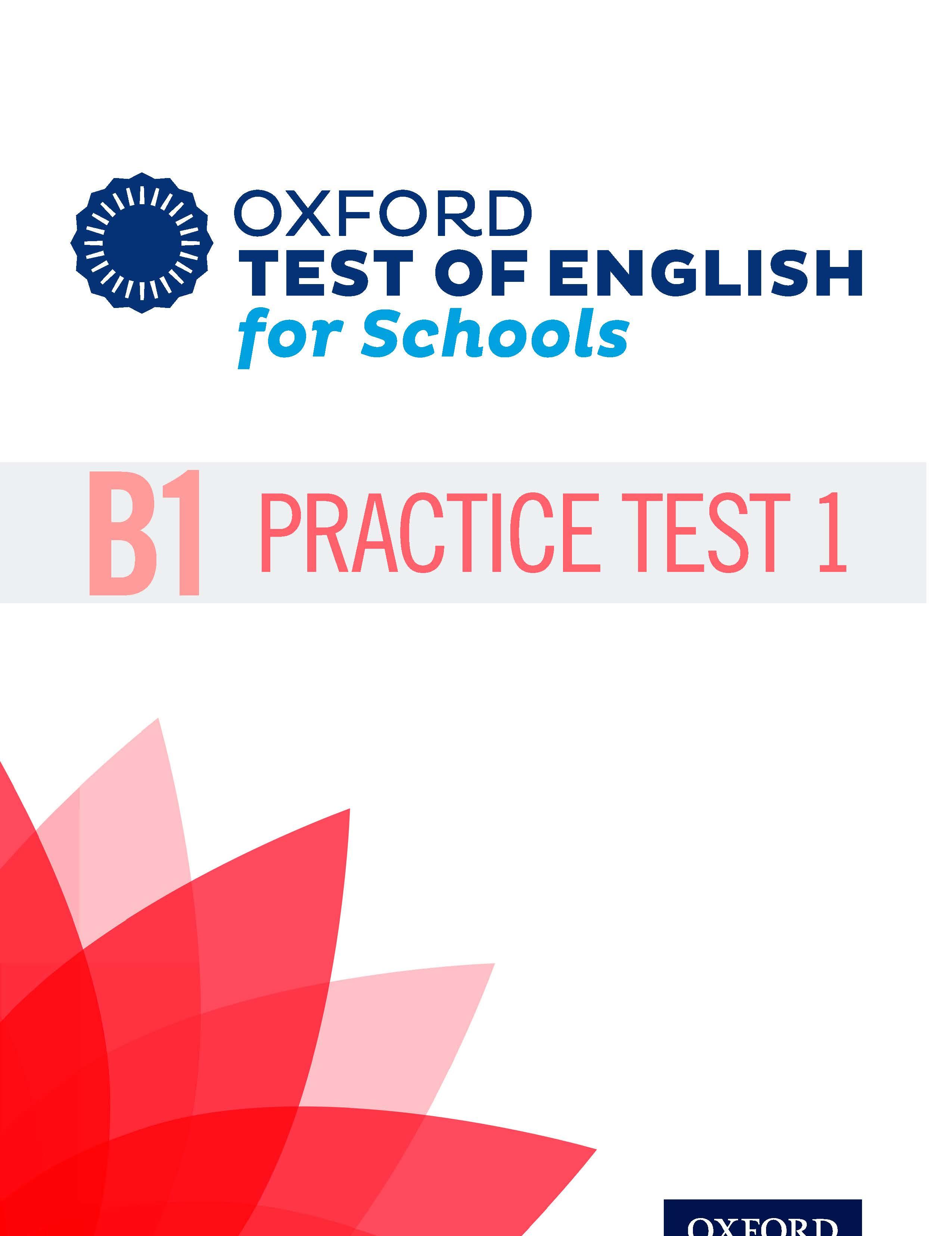 B1 Practice Test