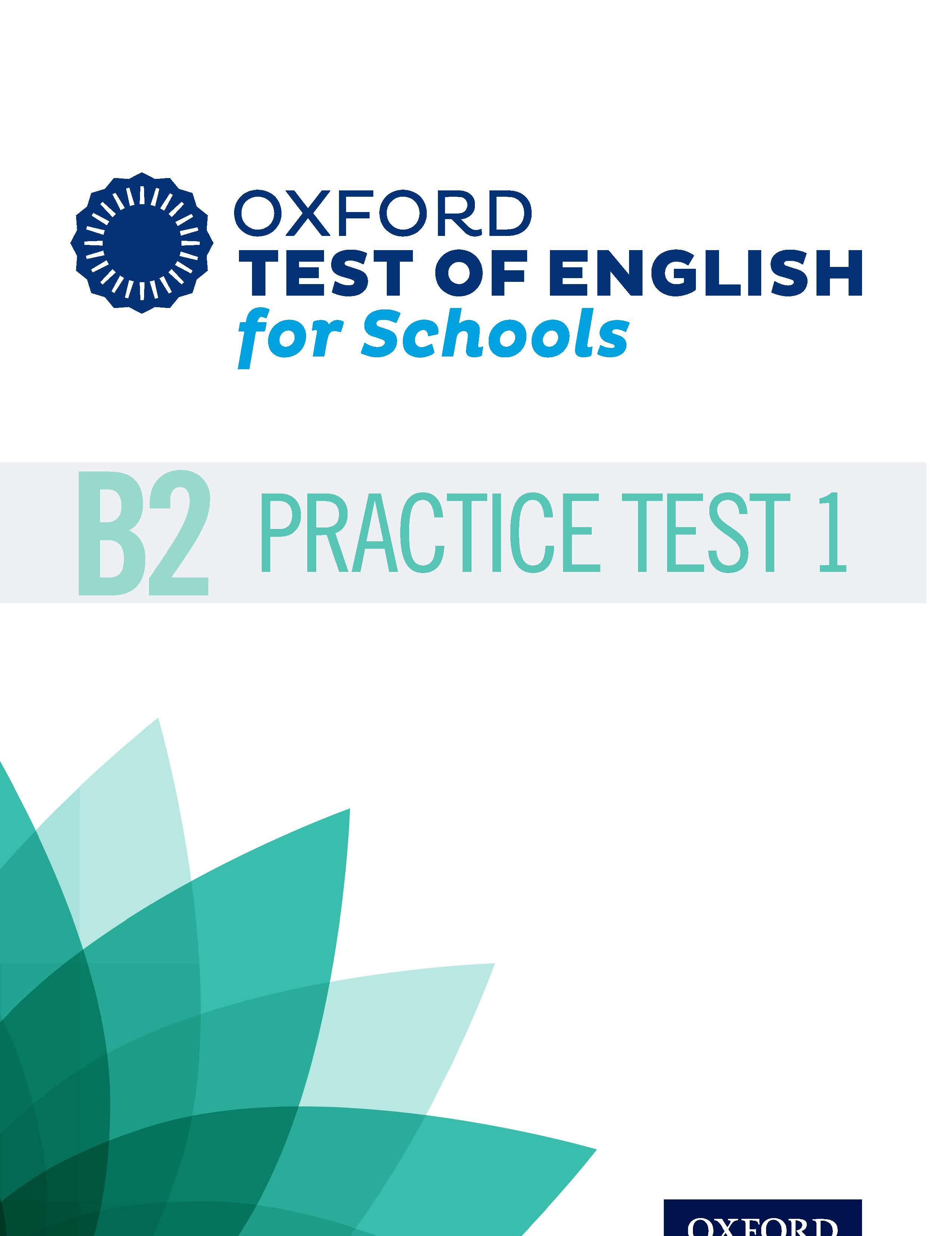 B2 Practice Test