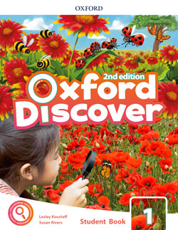 Oxford Discover second edition Level 1 Student's Book cover