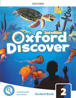 Oxford Discover second edition Level 2 Student's Book cover